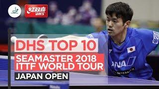 Топ-10 моментов Открытого Чемпионата Японии (ВИДЕО)