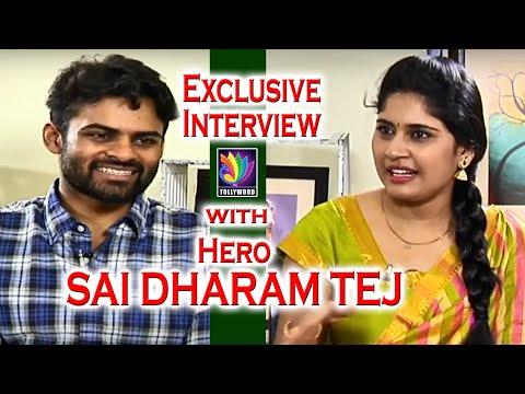 Sai Dharam Tej Exclusive Interview   Sai Dharam Tej about Thikka Movie   Tollywood TV Telugu