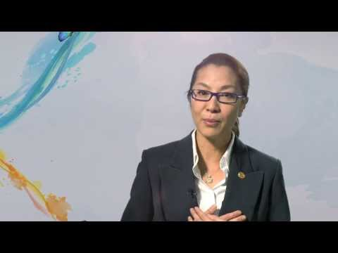 Actress and activist Michelle Yeoh supports the zero discrimination campaign