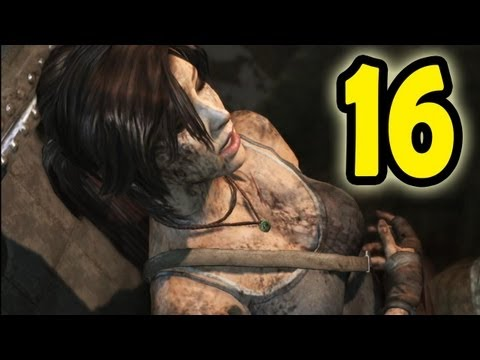Tomb Raider 2013 - Walkthrough - Part 16 - Got Hurt so Bad, Need a First Aid Kit!