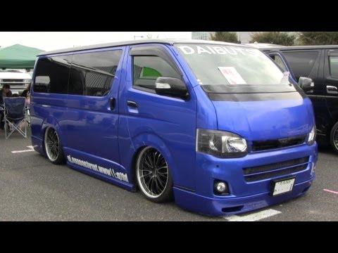 Part1 2012 HIACE CUSTOM CAR SHOW JAPAN TOKYO SBM スタイルボックスミーティング