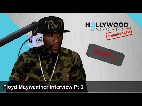 Floyd Mayweather talks How McGregor Fight Happened & Philipp Plein Fight Outfit
