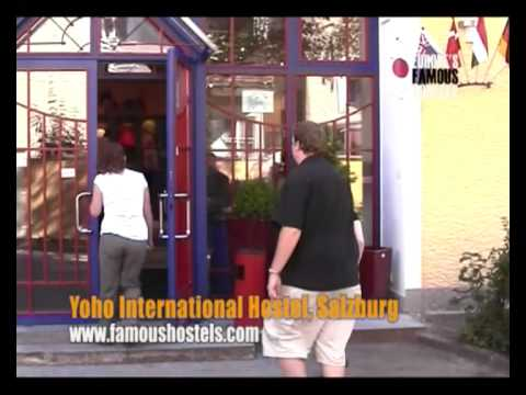 Wideo Yoho International Youth Hostel Salzburg