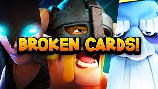 Video Top 7 Most GAME BREAKING Cards in Clash Royale History! MP3, 3GP, MP4, WEBM, AVI, FLV September 2018