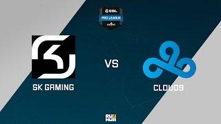 SK vs C9, game 1