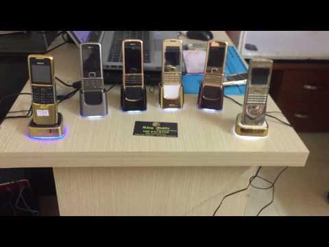 Test Thử Cốc sạc Điện Thoại Nokia 8800 Arte , Siroco ,Anakin Tại Rồng Mobile