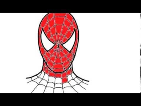 Como desenhar homem aranha