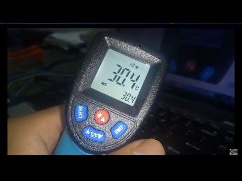 Hướng dẫn sử dụng súng nhiệt (Infrared Thermometer) GM-550 - Thời lượng: 20 phút.
