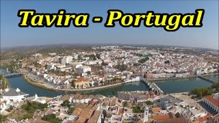 Tavira Portugal  city photos : TAVIRA PORTUGAL 2014 Aerial View