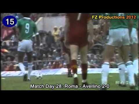 tutti i goal di paulo roberto falcao in serie a con la roma!