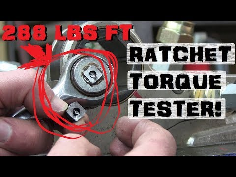 How Much Torque? | Broaching squares to test RATCHETS! (видео)