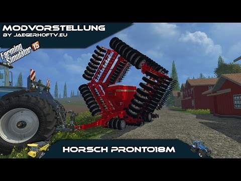 Horsch Pronto 18m v1.8 Red