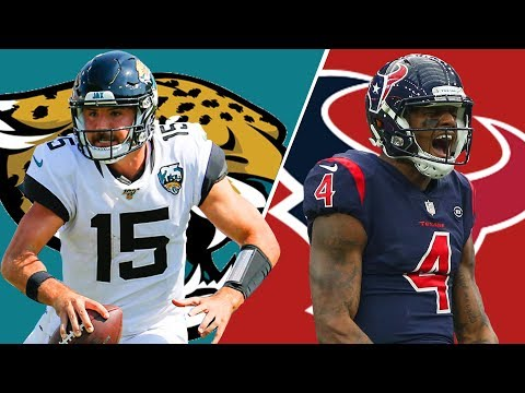 Jacksonville Jaguars vs Houston Texans Play-by-Play and Reactions | Week 2