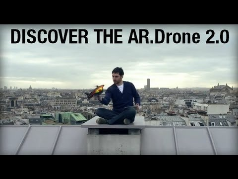 Video: AR.Drone 2.0 – Fly, Record & Share HD Videos
