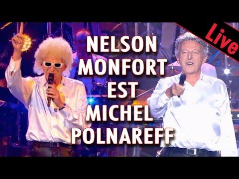 Nelson Monfort est Michel Polnareff et chante On ira tous au paradis / Live dans Ze Fiesta
