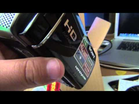 Sony Handycam HDR-CX 130 Unboxing