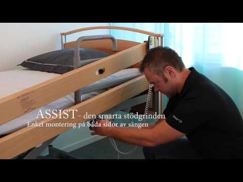 Assist stödgrind - montering