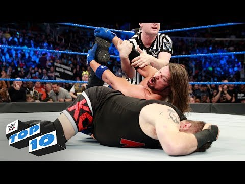 Top 10 SmackDown LIVE moments: WWE Top 10, January 23, 2018
