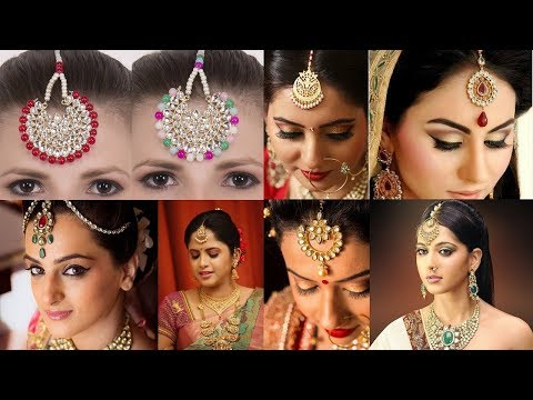 Bridal | Maang Tikka | Jewelry Set | For Wedding Day
