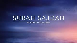 Surah Sajdah - سورة السجدة   Anas Al Emadi   English Translation
