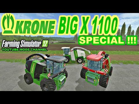 Krone BigX 1100 Special v1.0