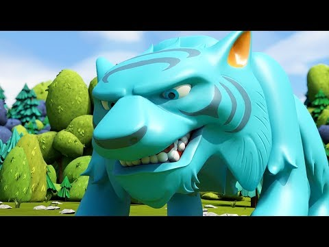 Kingdom Builders   Tiger on the Loose   Cartoon Compilation