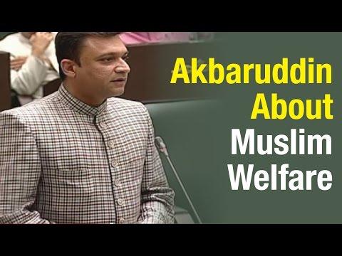 KTR clarifies Akbaruddin Owaisi question on welfare of Muslim Minorities  T Assembly26032015