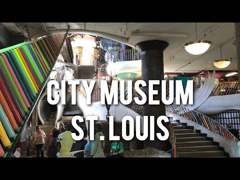 THE BEST PLAYGROUND IN AMERICA - City Museum in St. Louis, Missouri