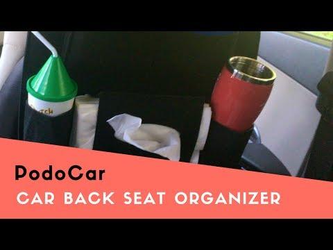 PodoCar - Multi-Pocket Car Back Seat Organizer