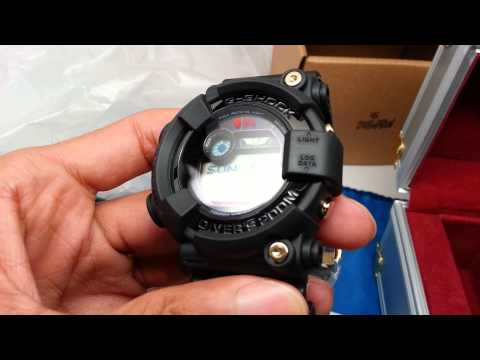 Gshock stussy frogman tough test and Unboxing