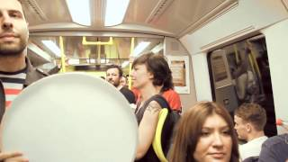 Occupy Taksim - Stockholm Subway