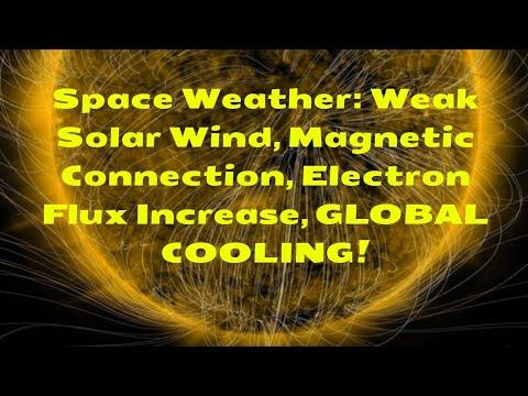 Space Weather: Weak Solar Wind, Magnetic Connection, Electron Flux Increase, GLOBAL COOLING!_A héten feltöltött legjobb nap videók