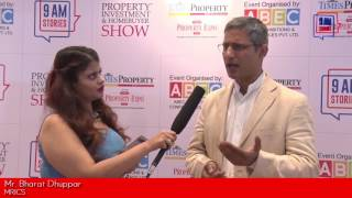 Mr. Bharat Dhuppar, MRICS, talks about impact of Demonetization on Real Estate Sector, Times Property Expo and more with 9 AM Stories.