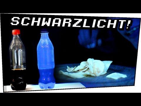 7 Lebensmittel unter SCHWARZLICHT! - Heimexperimente #66