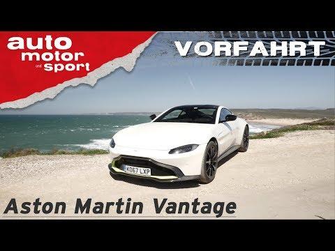 Aston Martin Vantage (2018): Die beste Wahl für AMG-Power? - Vorfahrt (Review) | auto motor & sport