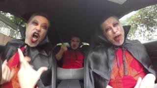 詹瑞文萬聖節搞鬼車大家落愛情陷阱!Jim Sir sings in car with Halloween style!