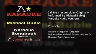 Michael Buble - Call Me Irresponsible Buble