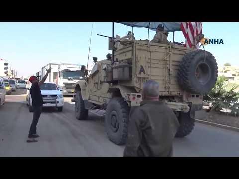 Video - Κατευόδιο με... πατάτες σε αμερικανικές φάλαγγες στη Συρία - BINTEO