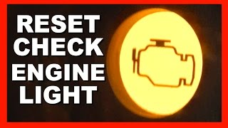 4. How To Reset Your Check Engine Light with no special tools