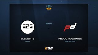 Elements Pro Gaming vs ProDota Gaming, Game 2, Dota Summit 7, EU Pre-Qualifier