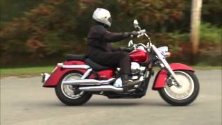 10. Honda VT750 AERO