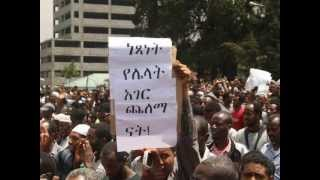Ethiopia: Special Report On Today's Peaceful Demonstration (Audio)