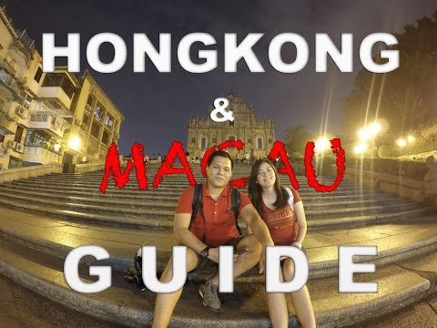 HONGKONG & MACAU GUIDE PART 1 ( in 5 days)