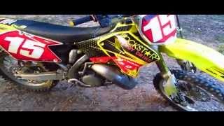 3. 2006 Suzuki RM-125 2 Stroke Dirtbike