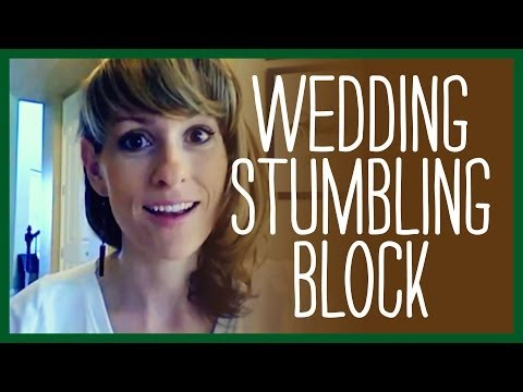Work at Home Mom Advice – Wedding Stumbling Block