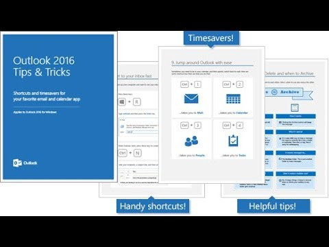 Microsoft Outlook 2016 Tutorial | Basics ,Tricks And Tips | Best Collaborative Tool