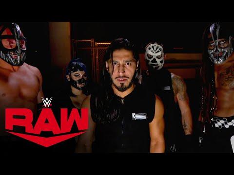 Mustafa Ali & RETRIBUTION vow to shut down WWE: Raw, Oct. 19, 2020