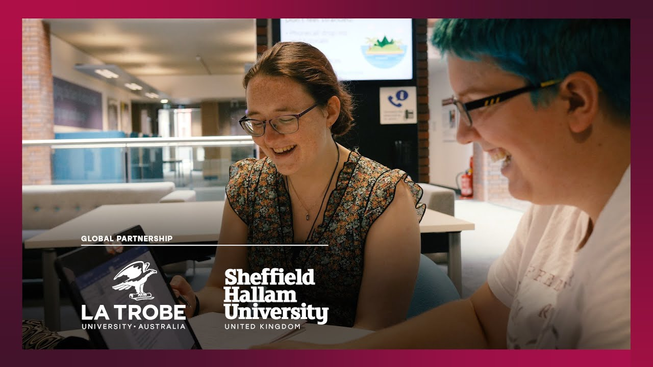 La Trobe students experience studying at Sheffield Hallam