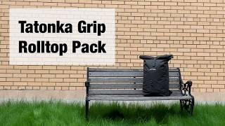Городской рюкзак с верхней загрузкой.  Tatonka Grip Rolltop Pack