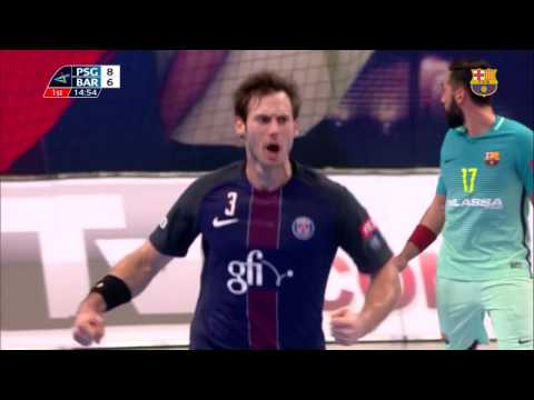 [HIGHLIGHTS] HANDBOL (Champions League): PSG - FC Barcelona Lassa (33-26)